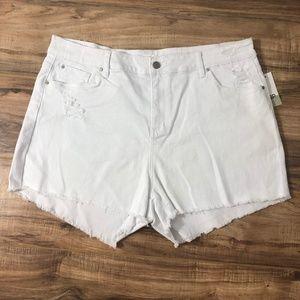BP. High Waist Cutoff Denim Shorts